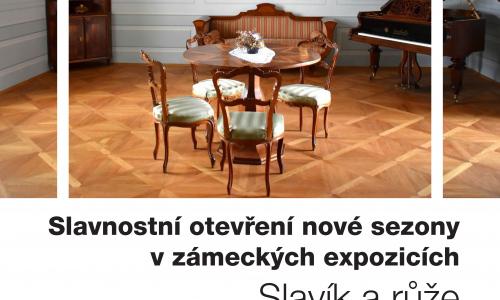 SLAVNOSTNÍ OTEVŘENÍ NOVÉ SEZONY V ZÁMECKÝCH EXPOZICÍCH