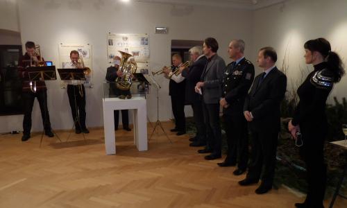 Fotogalerie z vernisáže výstavy Dobrodružství kriminalistiky